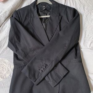 H&M Navy Blue Jacket Blazer - Size 16